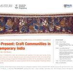 An invitation to Past-Present: Craft Communities in Contemporary India.