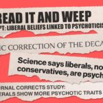 Liberals, authoritarianism, psychoticism – and fake news