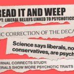 Liberals, authoritarianism, psychoticism – and fake news